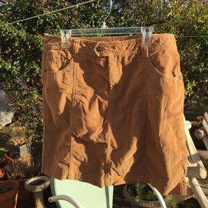 Women's Size 16 Corduroy Skirt - Like New